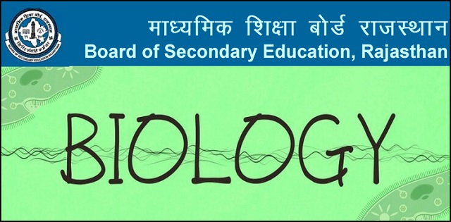 Download Rajasthan State Board Class 12 Biology Latest Syllabus