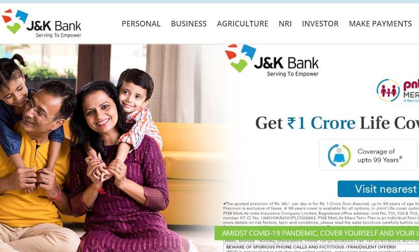 JK Banks Jobs 2020