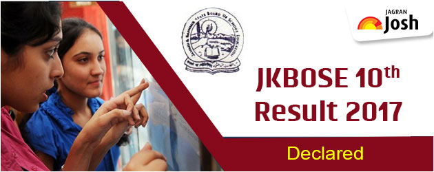 JKBOSE 10th Class Result 2017: JKBOSE likely to announce JKBOSE 10th results today on jkbose.co.in