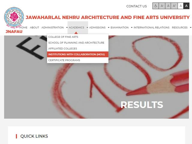 JNAFAU Results 2019: Various UG and PG results declared
