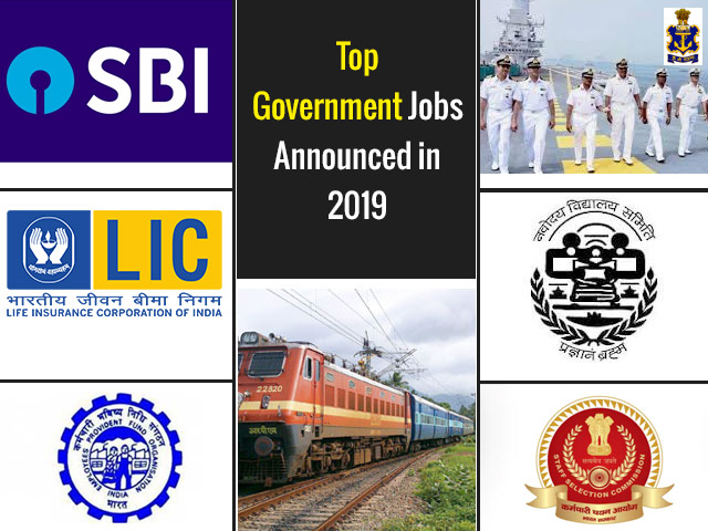 Top 9 Government Jobs Announced in 2019