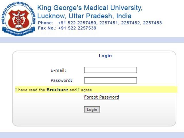 KGMU BSc Nursing Admit Card 2019 Released, Download KGMU Admit Card