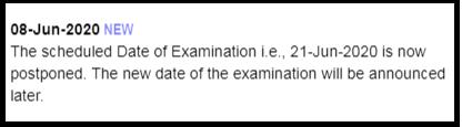 KSET 2020 Exam Postponed
