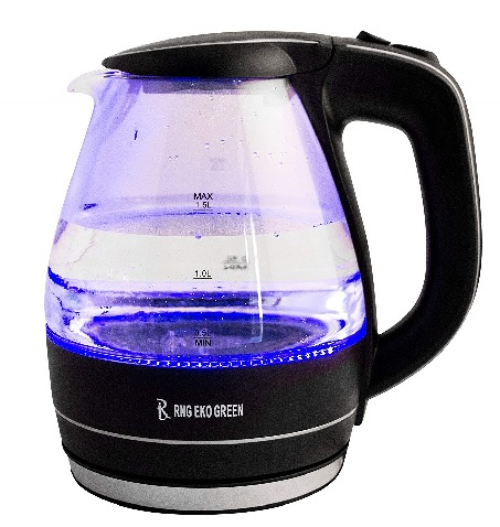 LED Glass Kettle