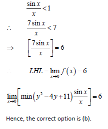 limit practice question