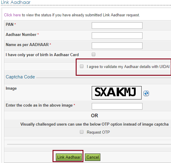 link aadhar final