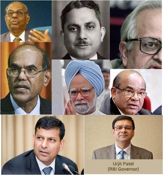 list of rbi governor