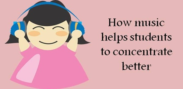 Listening to music boosts level of concentration while studying