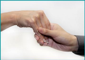 loose hand shake