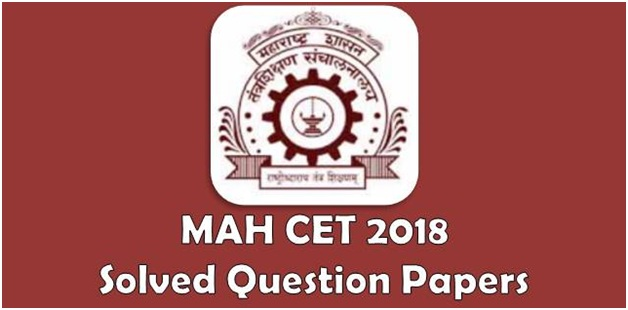 MAH CET Previous Year Solved Question Papers