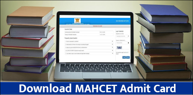 MAHCET Admit Card