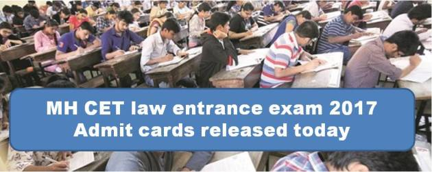 MH CET law entrance exam 2017: Admit cards released today