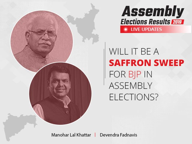Maharashtra - Haryana Election Results 2019 Live Updates