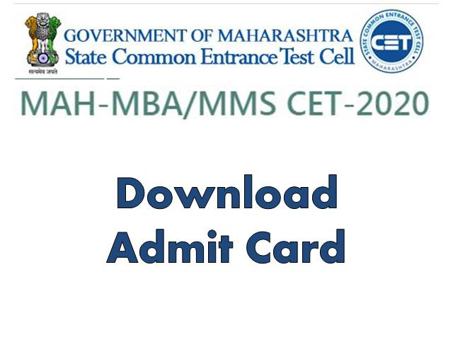 MAHCET 2020 Admit Card