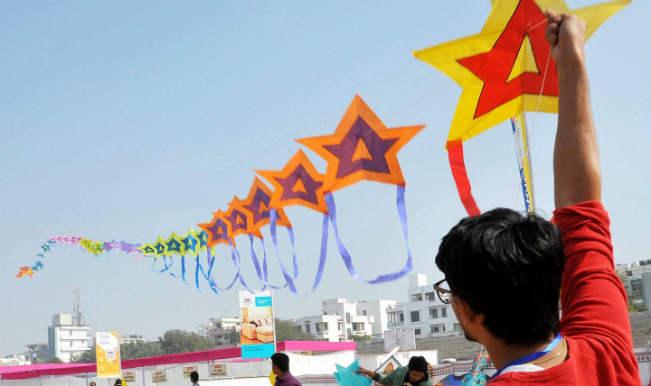 Kite Flying at Makar Sankranti