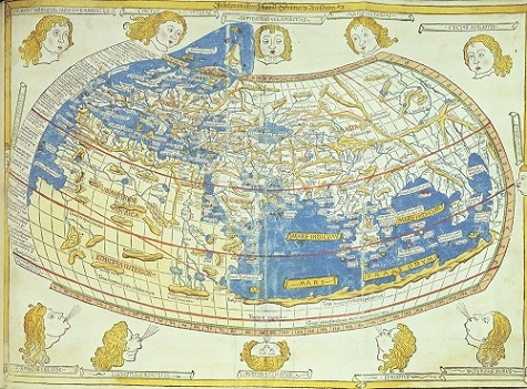 map of world by ptolemy