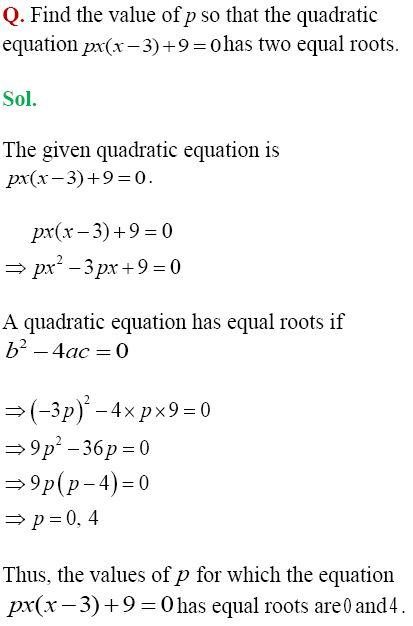 CBSE Class 10 | Mathematics Solved Model Paper (Set - 2)