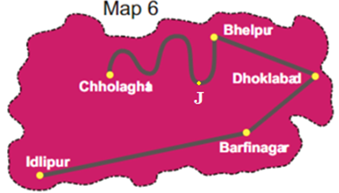 NCERT Class 5 Solutions Maths Chapter 8 Mapping Your Way