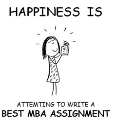 beginner's guide to mba assignments