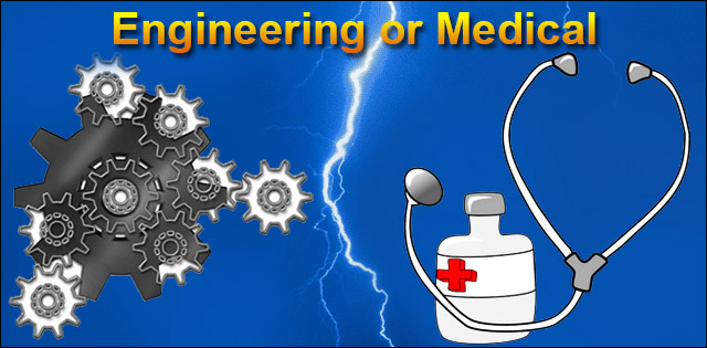 career option as a doctor or an engineer