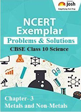 Class 10 Metals and Non-Metals, Class 10 NCERT Ecxemplar Chapter 3