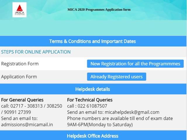 MICAT 2020 Phase 2 Registrations Begin
