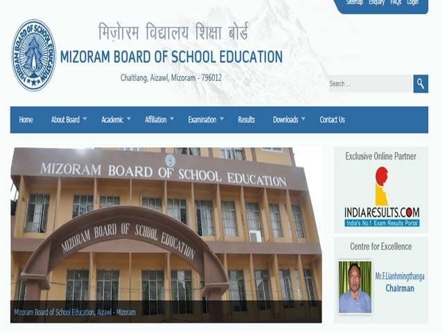 Mizoram Board 10th Result