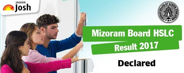 Mizoram HSLC Result 2017 Announced