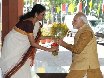 modi and nirmala sitharaman