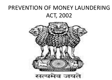 money laundering act