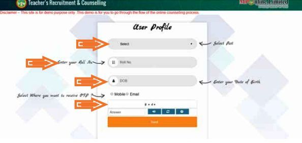 MPPEB Online Counselling Step 4