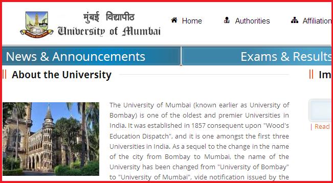 Mumbai University TYBA Result 2016
