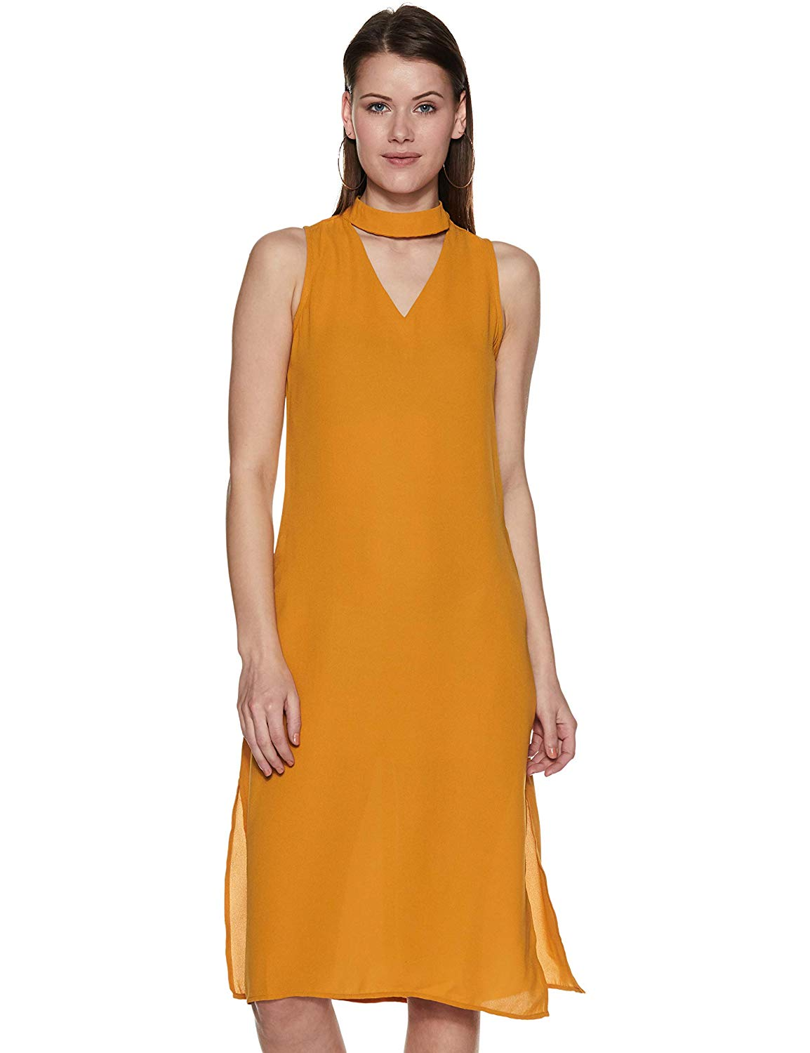 Mustard Colored Dress