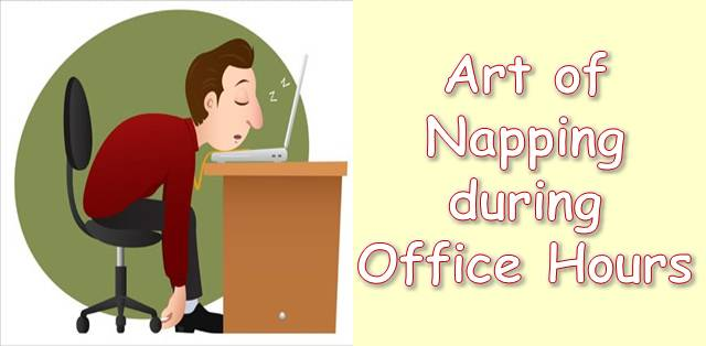 Napping IN OFFICE