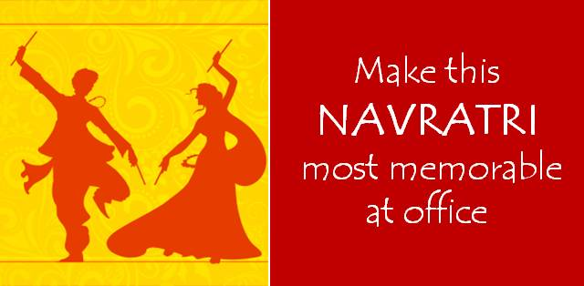 NAVRATRI AT WORK