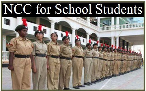 Importance of NCC for school students