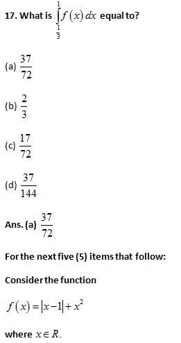 NDA NA-I 2016 Mathematics