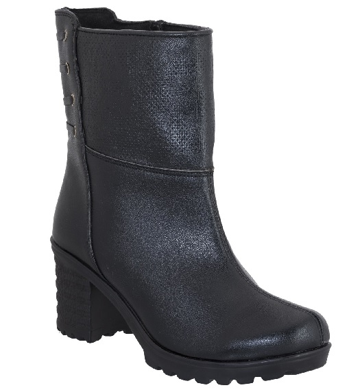 High neck winter boot