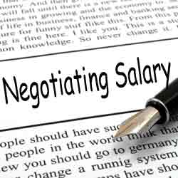 Negotiating the Salary