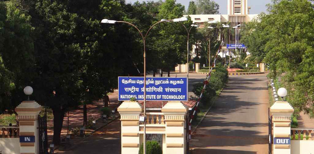 Opening and Closing rank of NIT, Tiruchirappalli