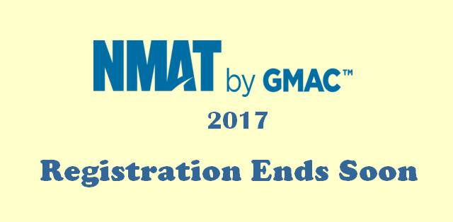 Nmat by gmac 2017 late registrations window to end soon for Window 5 nmat