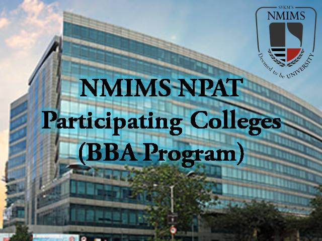 NMIMS NPAT top BBA colleges