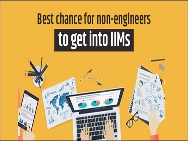 Non-engineers in IIMs