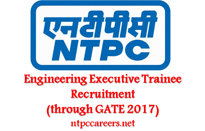 recruitment and selection at ntpc The selection board, national thermal power corporation limited has also invited the application forms for ntpc engineering executive trainee posts on its official website ie, wwwntpccoin the application form for ntpc recruitment 2018 through gate is available from 10th january to 31st january 2018.