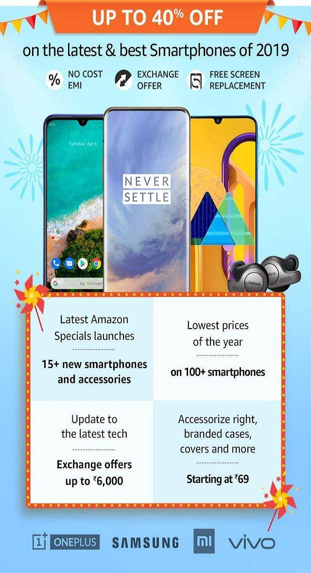 Amazon Great Indian Festival Sale 2019: Offer 2