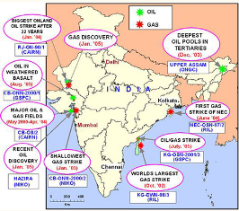 oil-exploration-centres-in-india