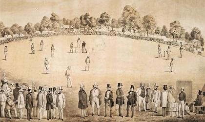 oldest cricket match