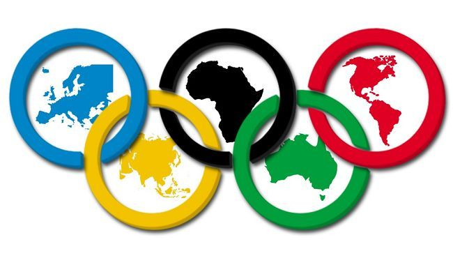 olympic moto continent