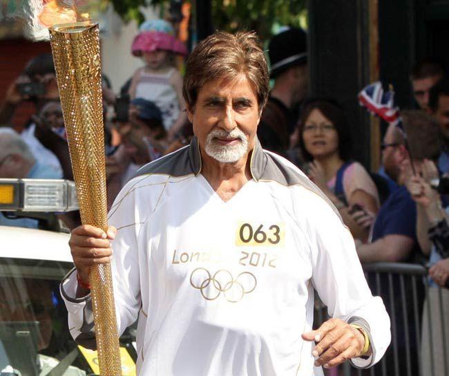 olympic torch amitabh