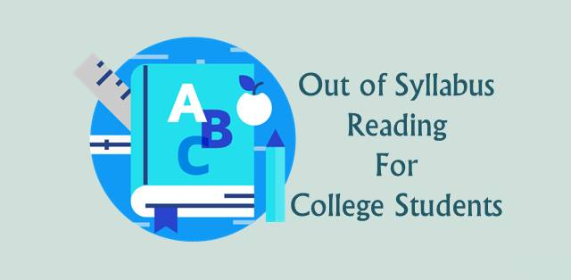 How college students can make time for out of syllabus reading